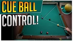Control the Cue Ball! Full Table Runs Using Stun and Rolling Shots with Only Center Ball!