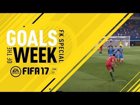 FIFA 17 - Goals of the Week - Free Kick Special