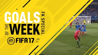 FIFA 17 – Goals of the Week – Free Kick Special (Round 8)
