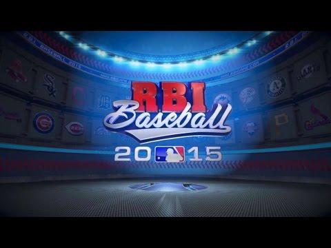 R.B.I. Baseball 15 Mobile Gameplay Trailer