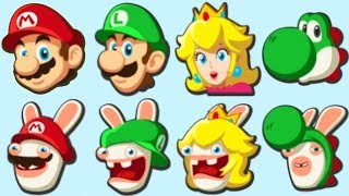 Mario + Rabbids Kingdom Battle - All Characters