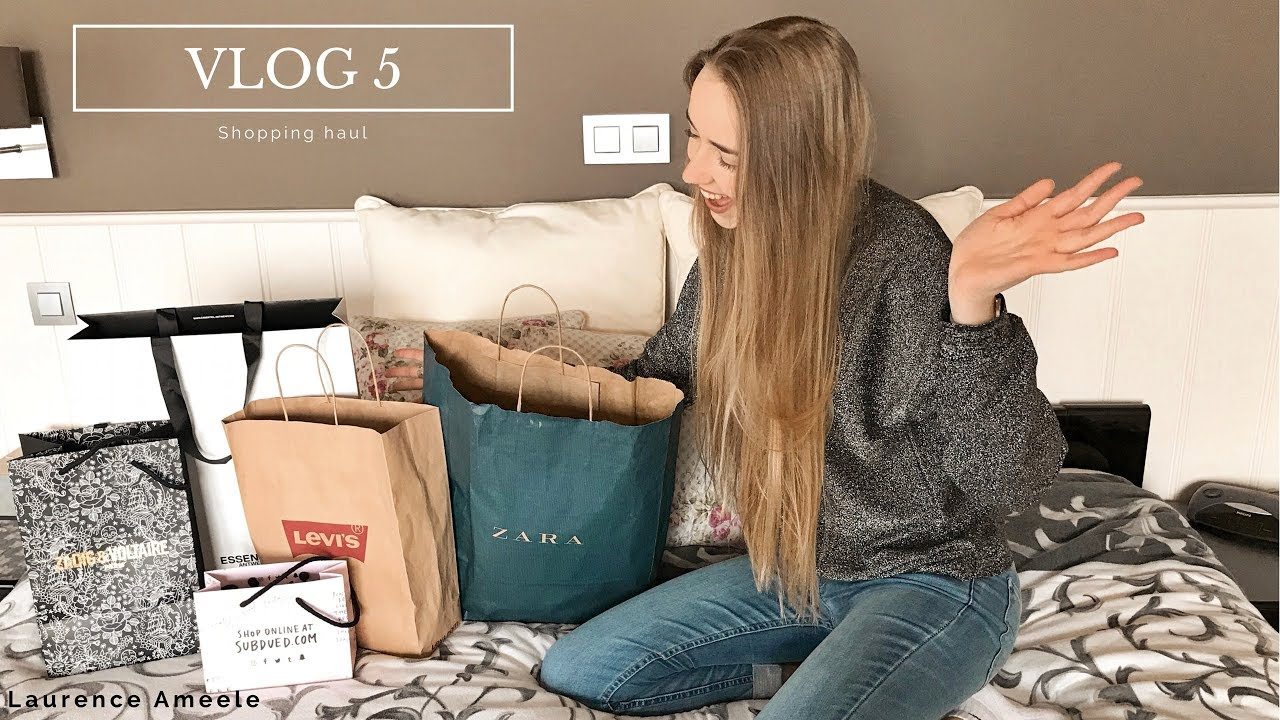VLOG #5 - Shopping haul