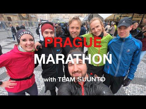 Prague Marathon 2019 With Team Suunto