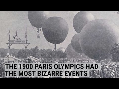 The 1900 Paris Olympic Games had the most bizarre events imaginable