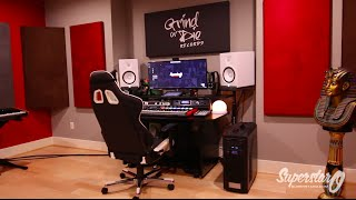 SuperStar O Home Studio Tour 2015