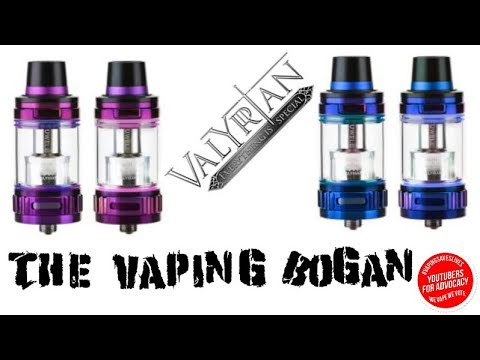 Uwell Valyrian Sub Tank | With Coil Penetration Technology | The Vaping Bogan