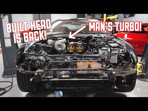 Building my 800HP Toyota Supra!