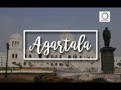 Agartala city, The journey to the Agartala