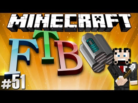 Minecraft Feed The Beast #51 - Advanced Jetpacking!