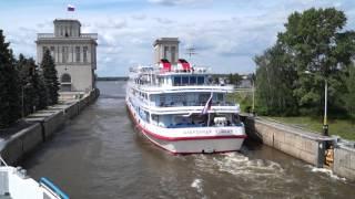 Теплоход Александр Пушкин 2015 год.(, 2016-02-11T22:05:40.000Z)