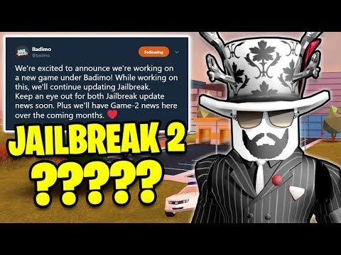NEW BADIMO Game COMING!! JAILBREAK 2!?   Asimo3089 & Badcc   🔴 Roblox Jailbreak LIVE