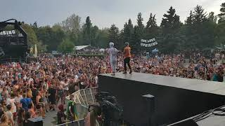 Ras Muhamad & Tóke   Open the world @ Uprising Festival 2018