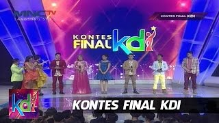 "Parade Finalis KDI 2015 "" 6 Besar "" Kontes Final KDI 2015 (25/5)"