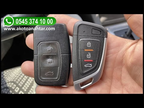 Ford Focus Anahtar Yapımı   Yedek Kopyalama - Oto Anahtarcı İstanbul