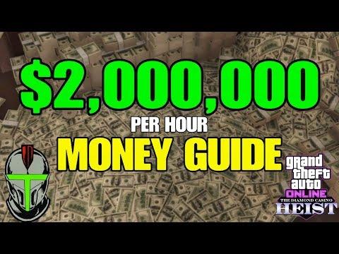 GTA ONLINE $2 MILLION PER HOUR MONEY GUIDE!!!
