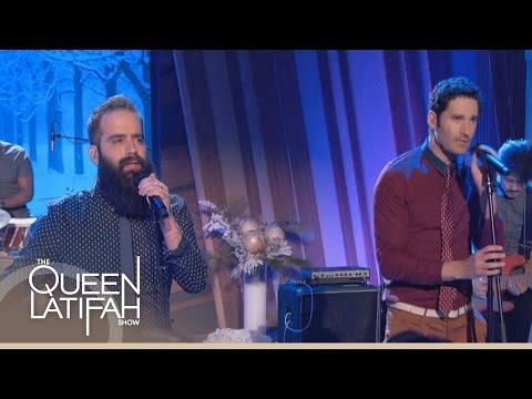 Capital Cities Performs Safe and Sound Full  The Queen Latifah Show
