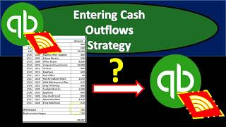 QuickBooks Online 2019-Entering Cash Outflows Strategy