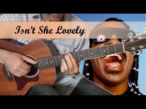 Isn't she lovely - Stevie Wonder - Guitar Cover