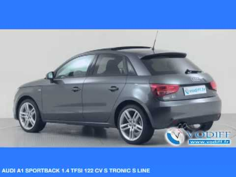 vodiff audi occasion alsace audi a1 sportback 1 4 tfsi 122 cv s tronic s line youtube. Black Bedroom Furniture Sets. Home Design Ideas