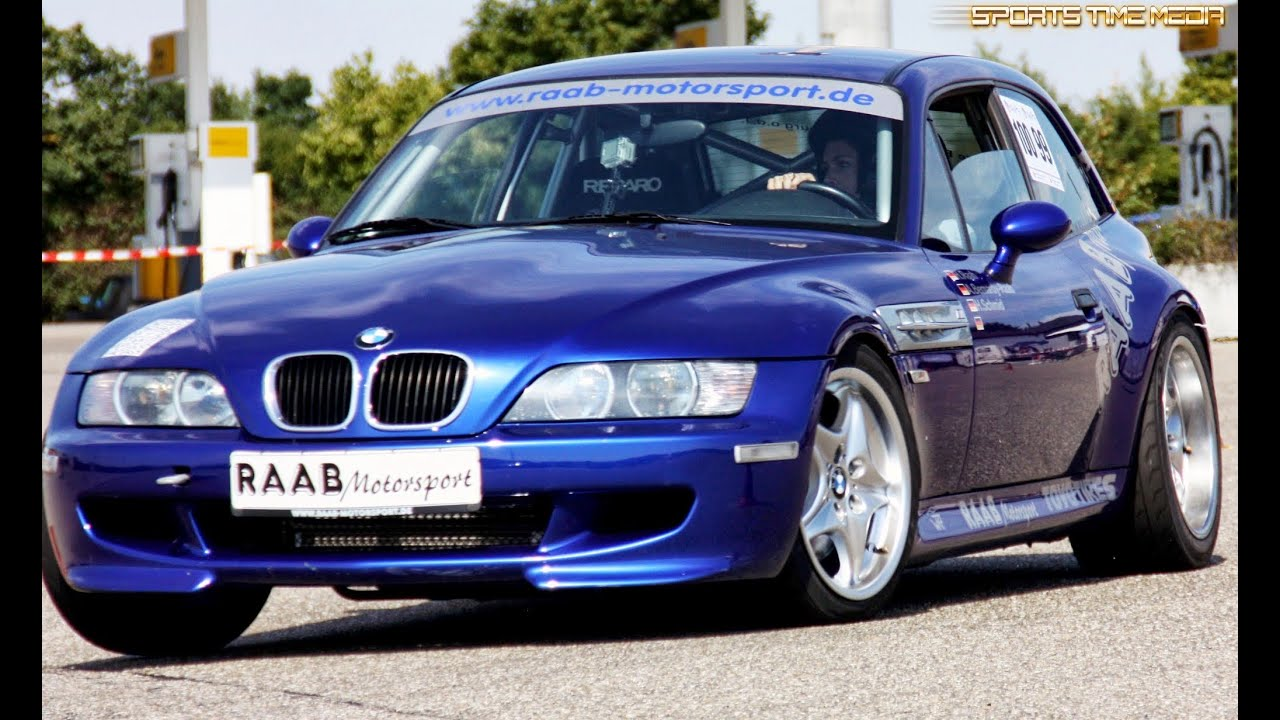Raab Motorsport Bmw Z3 M Coupe Bmw Slalom Cup Bad Windsheim Youtube