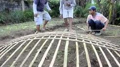 CoRe Solutions Ferro-cement rain tank construction in Indonesia