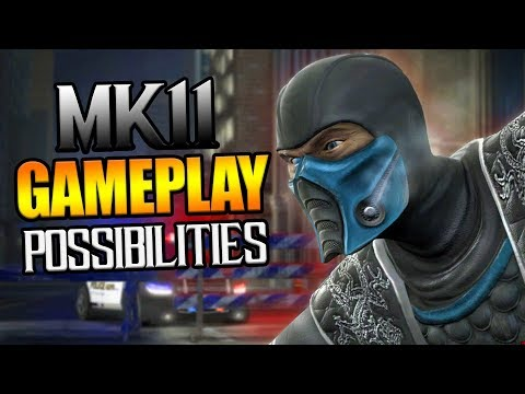 Mortal Kombat 11: GAMEPLAY Possibilities