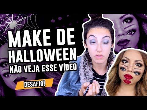 TUTORIAL: Maquiagem de Halloween - Dia das Bruxas