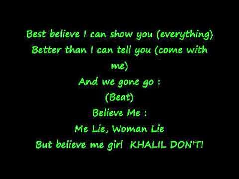 Khalil - Girlfriend Ringtone w/ Lyrics