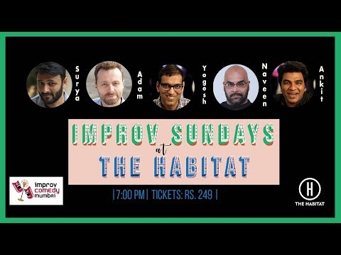 Poetry In Seconds | Funny Improv Comedy | Hindi and English | The Habitat