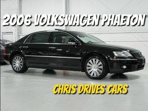 2006 Volkswagen Phaeton - Chris Drives Cars Test Drive with Chris Moran