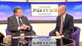 Andrew Gilligan on Sunday Politics talking about Boris Johnson's cycling vision