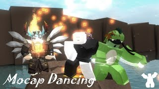 ROBLOX: Jump Mocap Dancing with the bin and