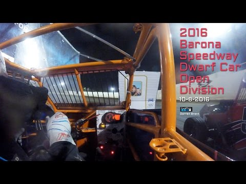 Barona Speedway Dwarf Car Main • Open Division 10-8-2016