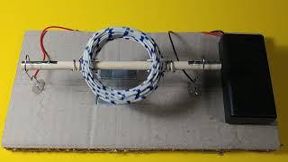 DC 모터 만들기 (Diy DC Motor)