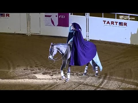 Aggie Wins World Title for Performing Let It Go in Freestyle Reining