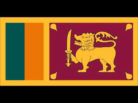 "The National Anthem of the Democratic Socialist Republic of Sri Lanka - ""ශ්රී ලංකා මාතා"""