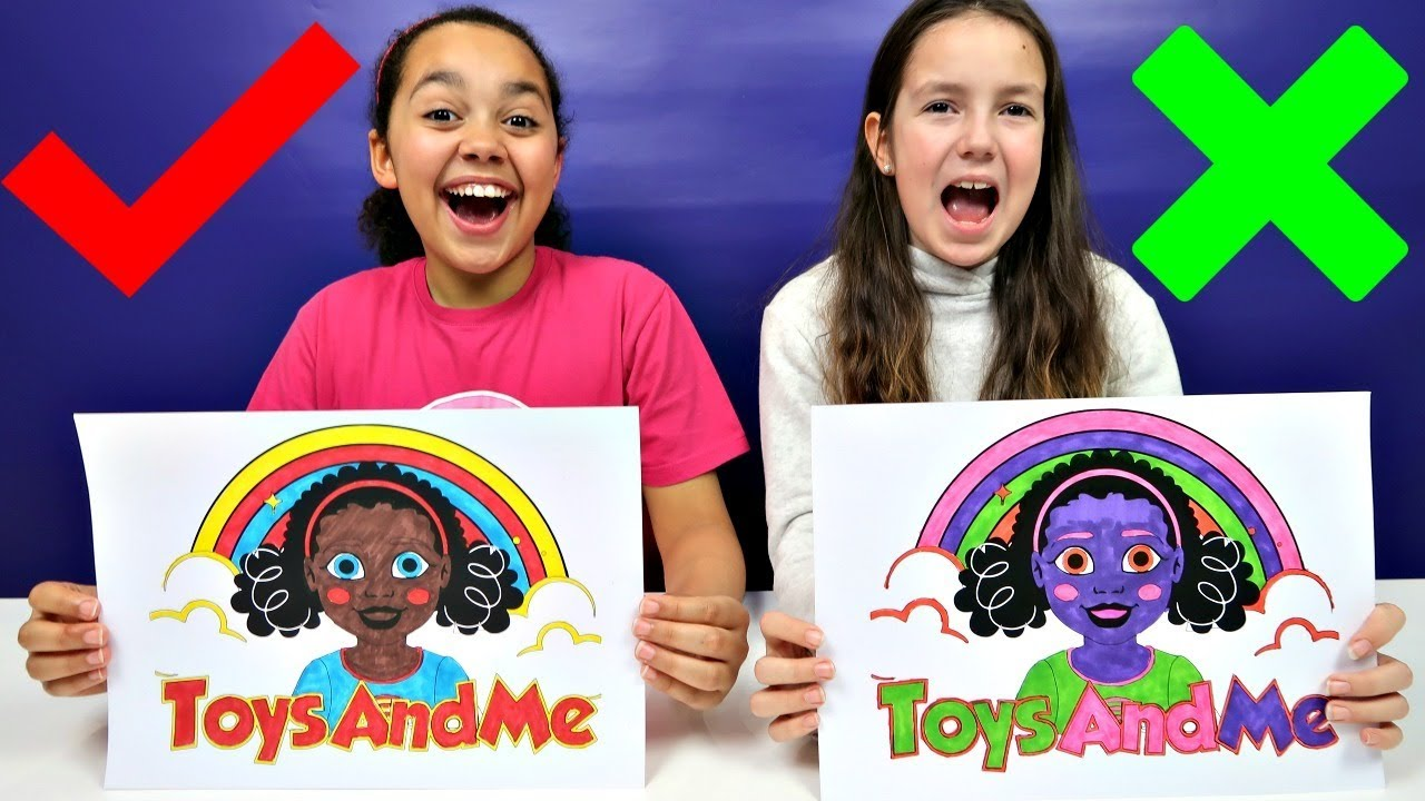 3 Marker Challenge Toys Andme Youtube