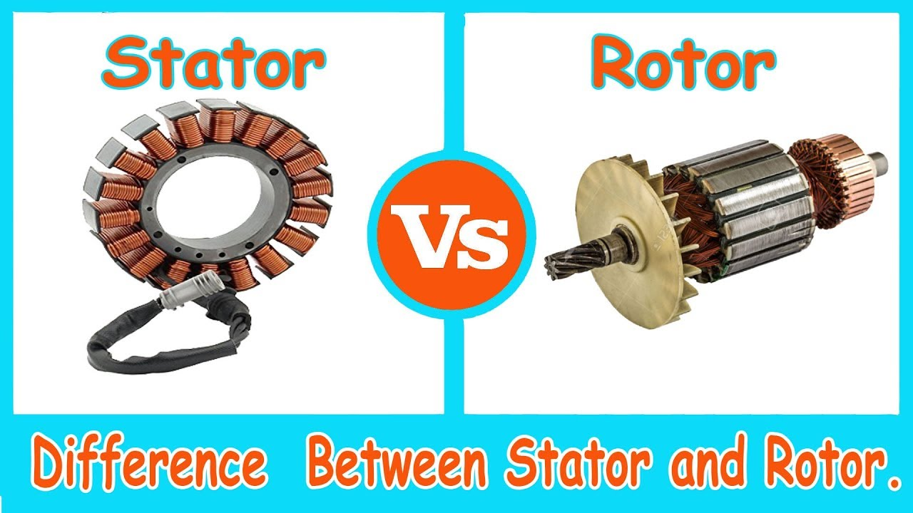 Stator and Rotor - Difference Between stator and Rotor