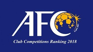 Rangking Liga di AFC 2018 | AFC Club Competitions Ranking 2018
