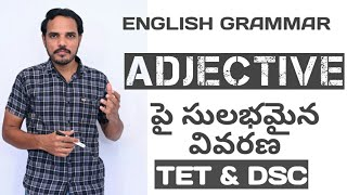 easy learning English grammar,types of adjectives, simple tricks learning English,TET&DSC special