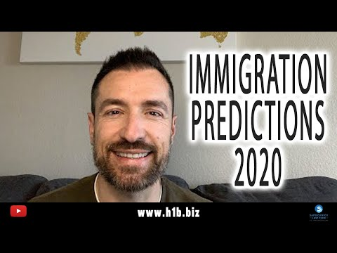 Immigration Predictions 2020 LIVE: San Diego Immigration Lawyer