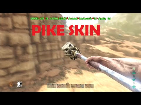 Ark Scorched Earth Pike Skin Location - East Way To Get