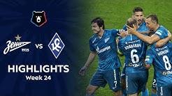 Highlights Zenit vs Krylia Sovetov (2-1) | RPL 2019/20