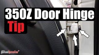 Nissan 350Z Door Hinge Tip