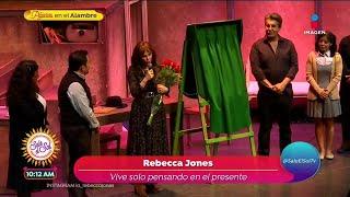 ¡Rebecca Jones revela que nunc…
