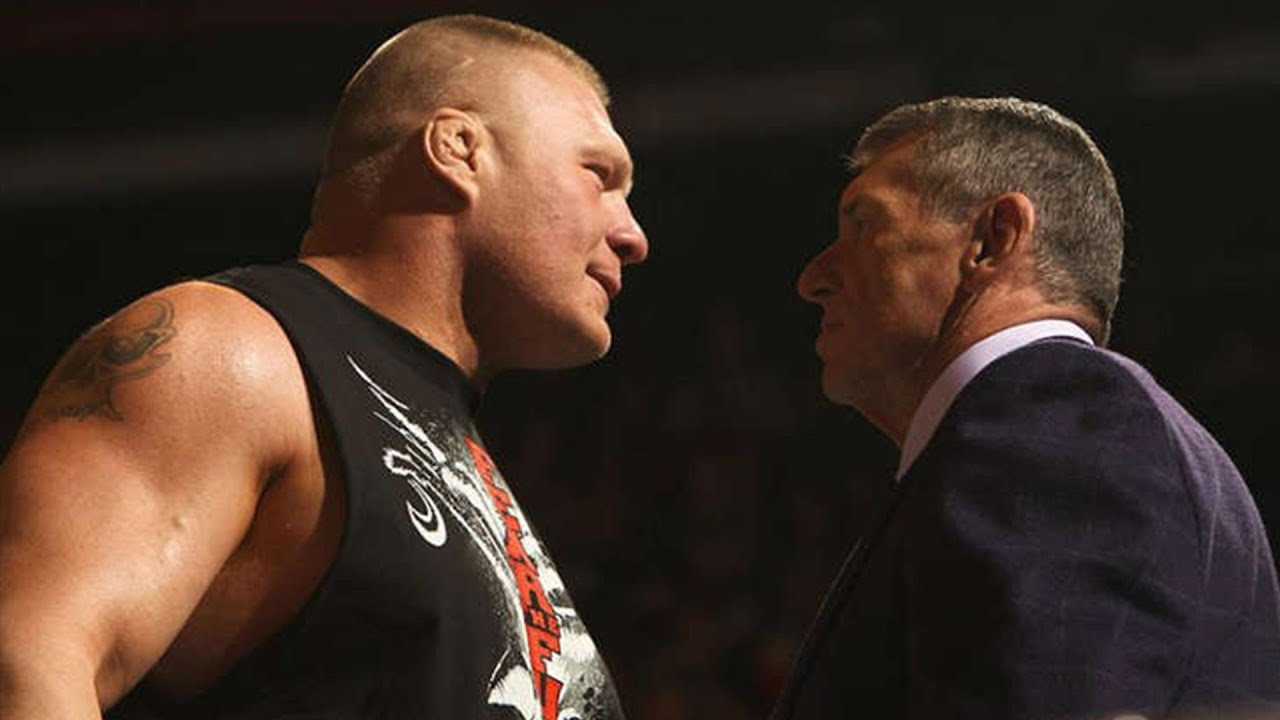 How Vince McMahon Reacted When He First Saw Brock Lesnar