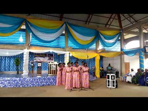 Evang Claire in  Ghana day 3