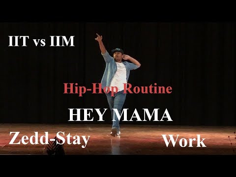 IIT vs IIM   Solo Dance   Hip Hop Performance   Dance Club   IIT Indore
