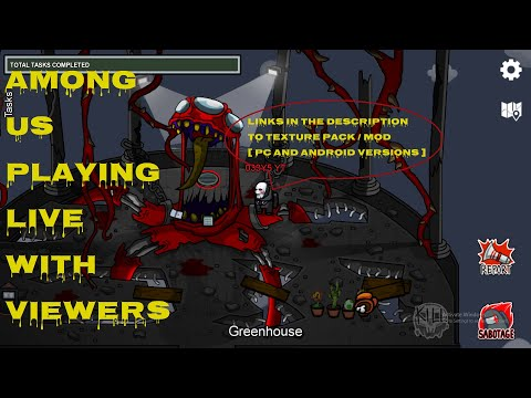 Among us – playing with viewers real stream no hidden code
