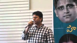 Srini Yeleswarapu sings